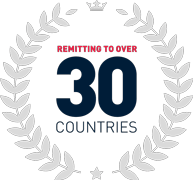 Remitting over 30 countries