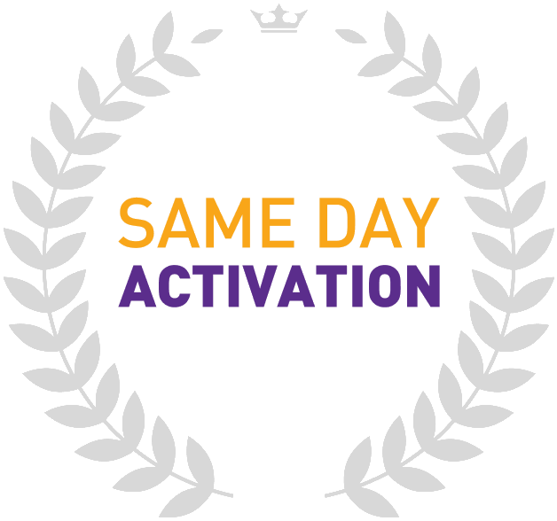 Same day activation